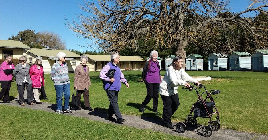 Social Support Group Visits Camp Cooriemungle