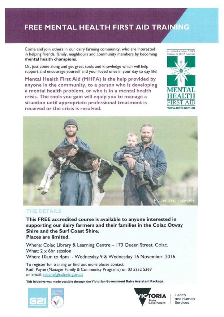 free-mental-health-first-aid-training