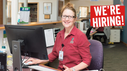 TDHS Job Opportunity   Administration:Reception