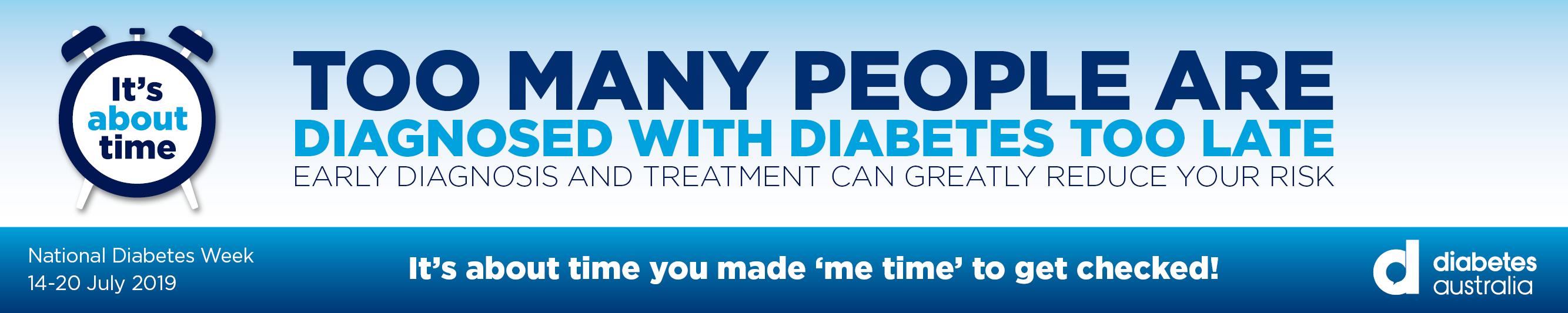 National Diabetes Week 2019 TDHS