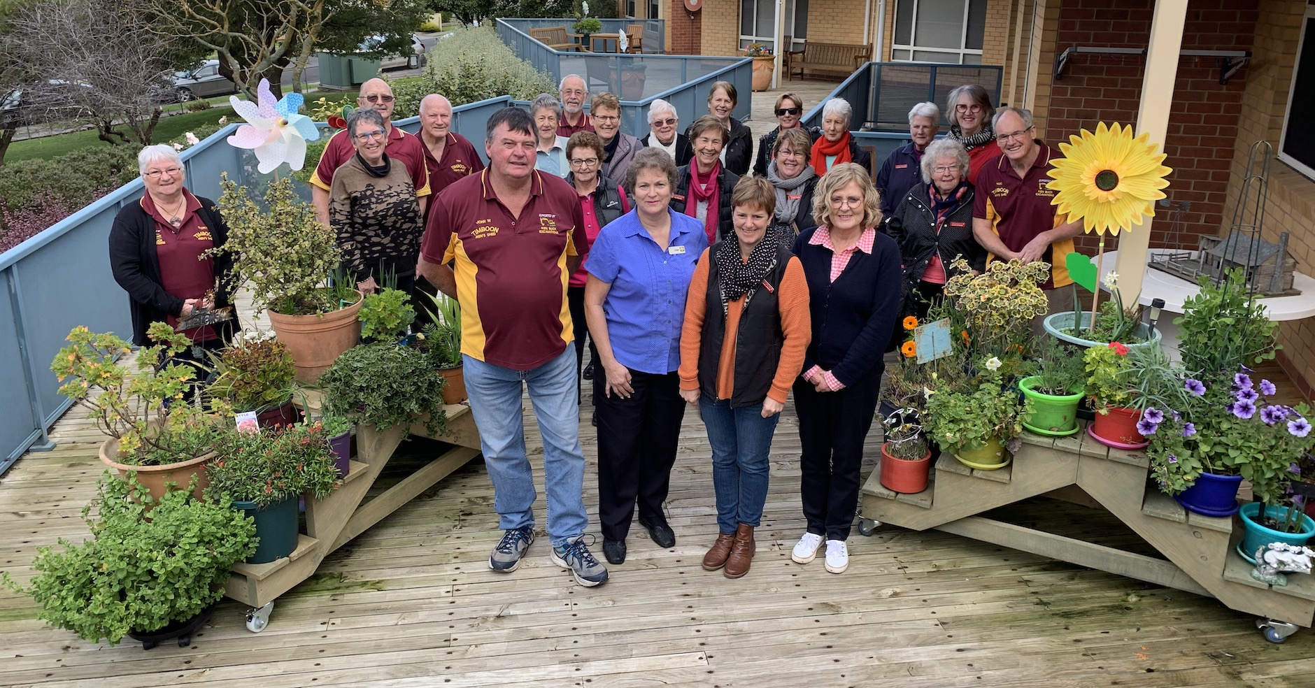 TDHS Timboon Garden Club & Timboon Men's Shed Project