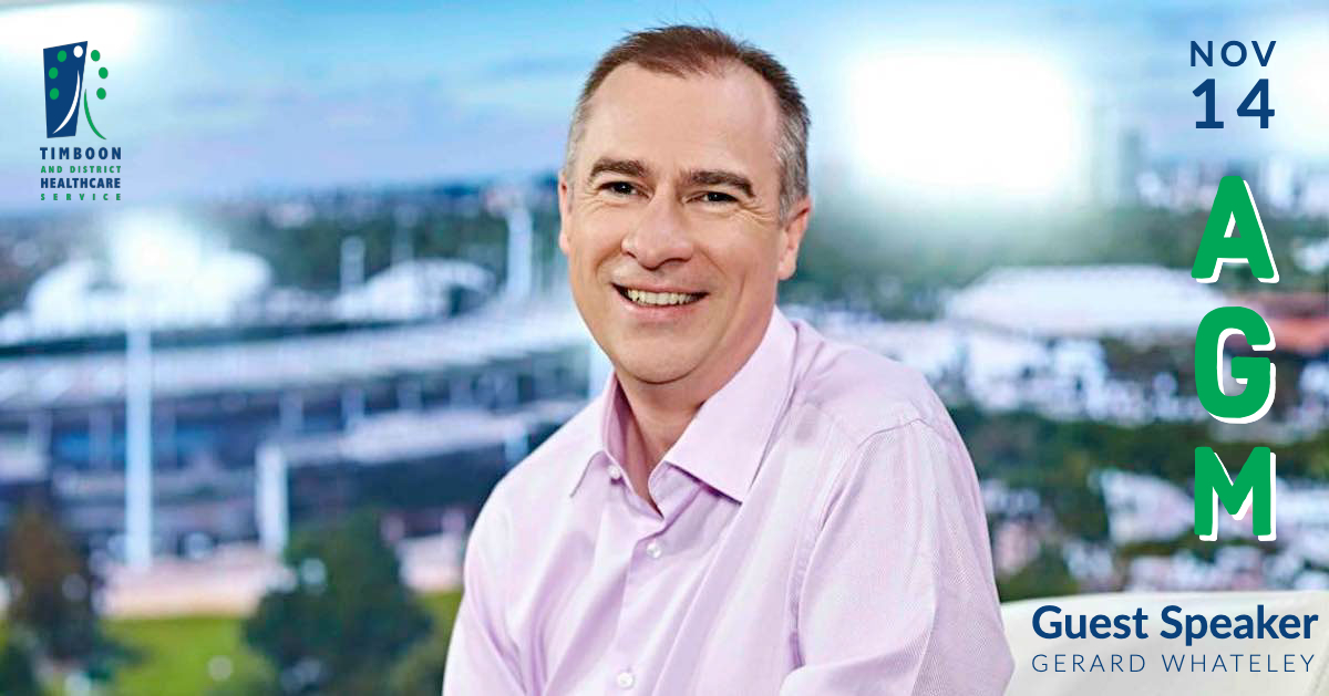 TDHS Gerard Whateley AGM