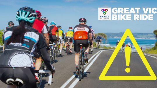 TDHS Great Victorian Bike Ride 2019
