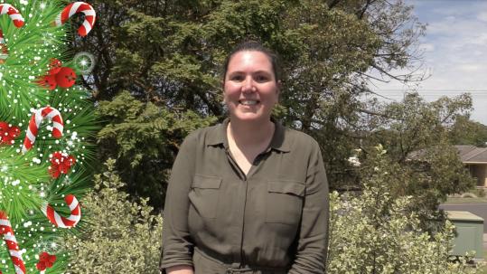 TDHS Christmas Message 2019 CEO Rebecca Van Wollingen