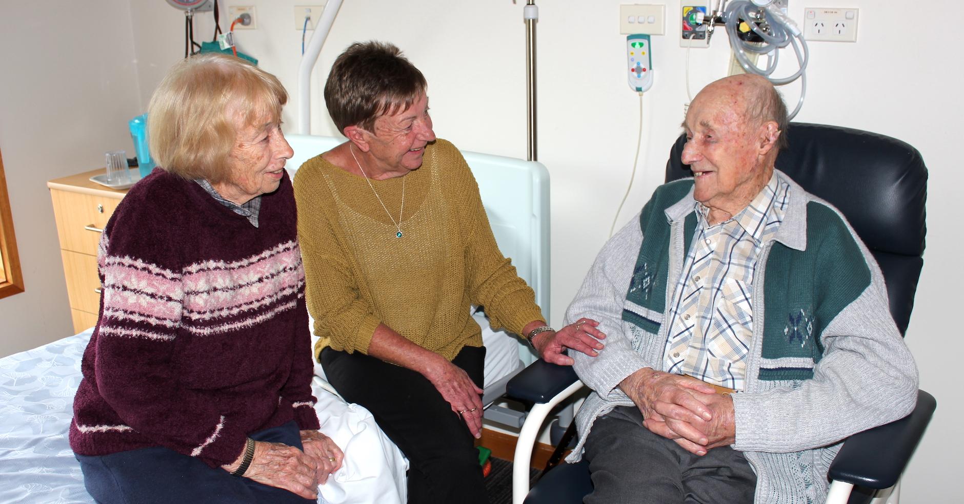TDHS Respite Care Dorothy Bettens Dennis Bettens Fiona Hanel