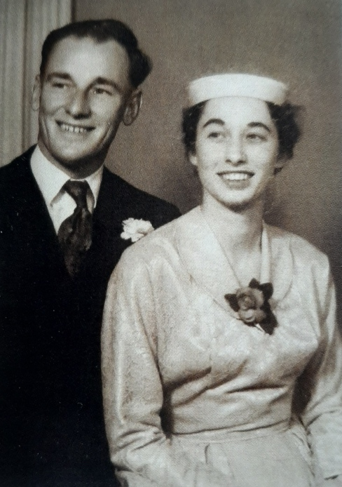 Wedding Photos of Dennis and Dorothy Bettens (nee Champion) 23 September 1954