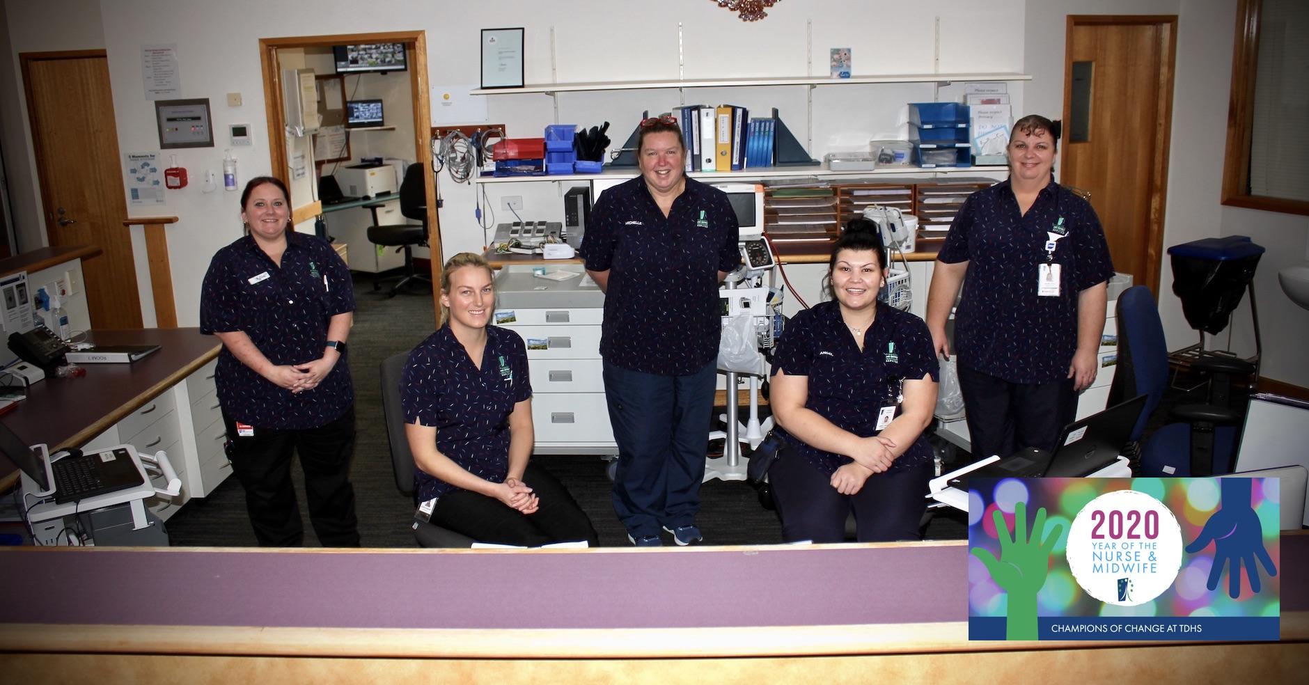 TDHS Ward Nurses Michelle Selten