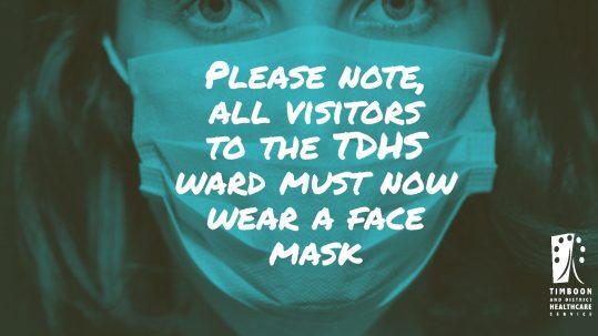 TDHS Face Masks