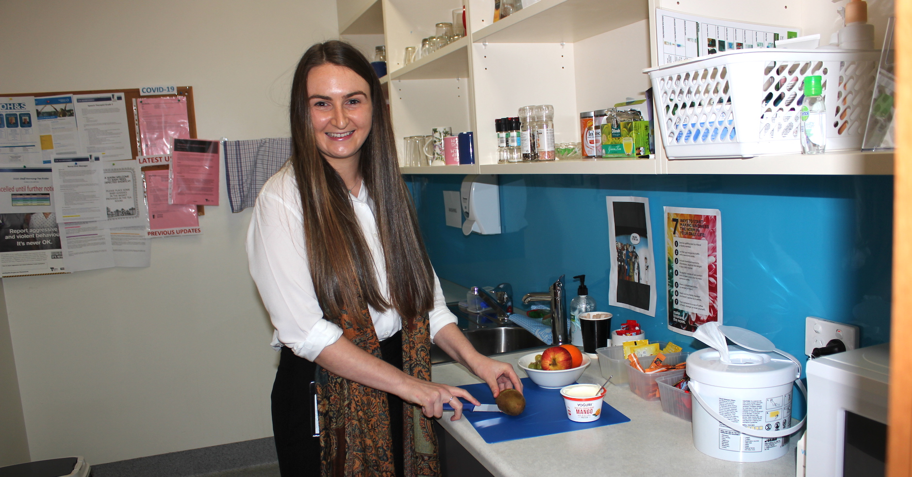 Malnutrition Week with new dietitian Emily Boyle TDHS