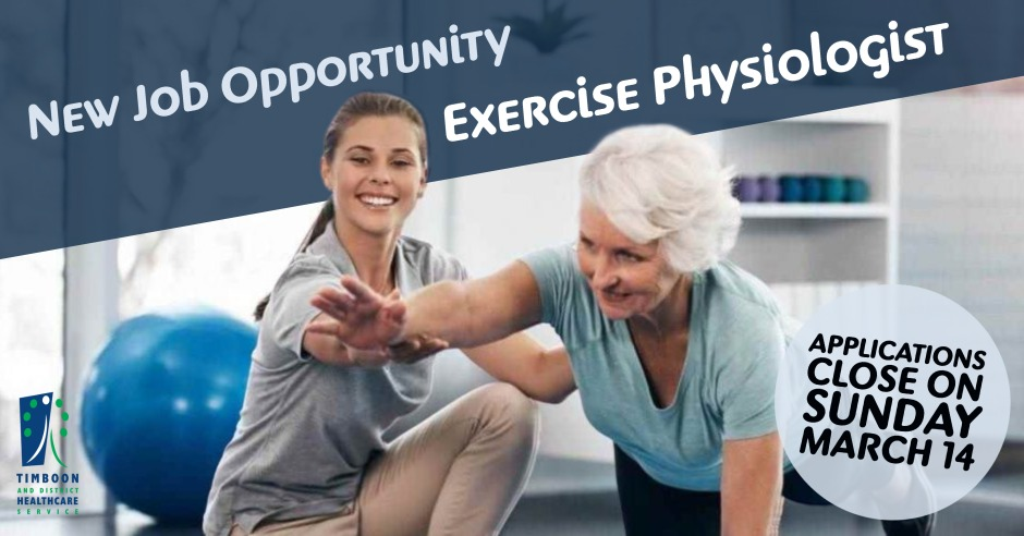 TDHS Job Opportunity Exercise Physiologist web