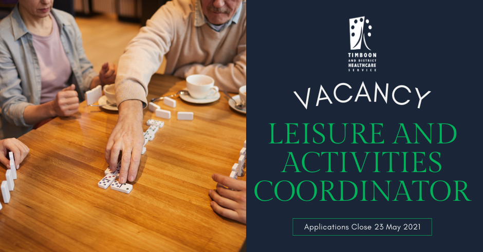 Leisure and Activities Coordinator