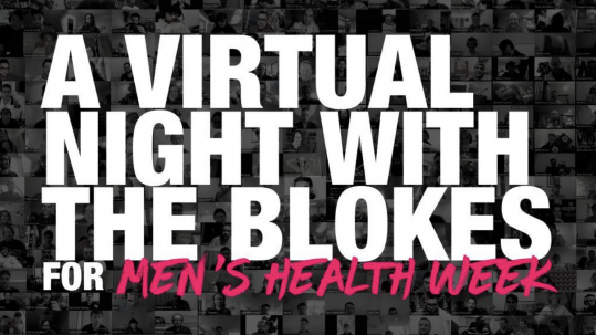 Tomorrow Man - A virtual night with the blokes, for Men's Health Week