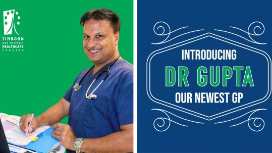 TDHS new GP Dr Yagyadut Gupta August 2021