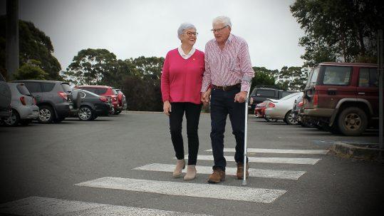 TDHS Carers Week Shirley Blain and Bill Blain